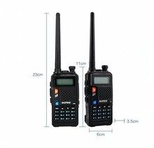 Baofeng uvt2 r9 walkie talkie banda dupla 136 174mhz 400 520mhz 2800mah bateria 128ch usb carregador diretamente rádio em dois sentidos