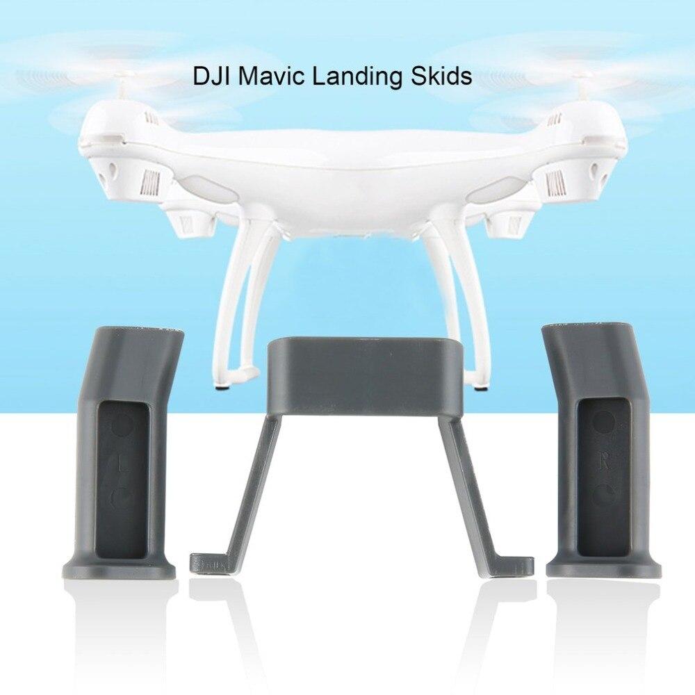 2pcs Landing Skids Gear Drone Legs Wheels Tripod For DJI Mavic Pro/Platinum FPV Quadcopter Aircraft Drone UAV Spare Part
