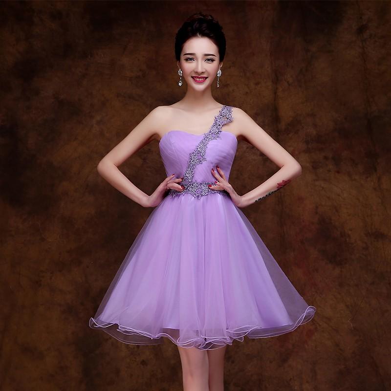 Appliques-One-Shoulder-Short-Purple-Bridesmaid-Dresses-Purple-Wedding-Party-Dresses-Cheap-Dress