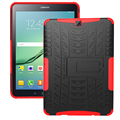 Heavy Duty Броня Hybrid ТПУ + Пластик Противоударный Hard Cover Для Samsung Галактики S2 8.0 T710 SM-T715 T715 8 ''Стенд Tablet Case