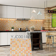Kitchen Wall Tile Stickers Wallpaper Home Decor Hot Sale Easy Remove 9.3x9.3
