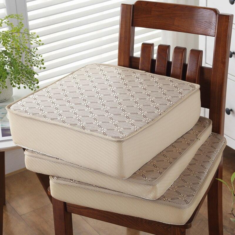 Modern Multi Colors Rattan Mat Chair Cushion 1pcs Anti-Slip Seat Cushion Floor Pad Kitchen Sofa Bedroom Chair Cushions Pillows