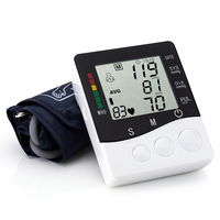 High Quality New Health Care Automatic Wrist Digital Blood Pressure Monitor Tonometer Meter for Measuring And Pulse Rate