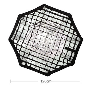 "Image 3 - Godox Portable 120cm 47"" Honeycomb Grid Umbrella Photo Softbox Reflector for Flash Speedlight (Honeycomb Grid Only)"