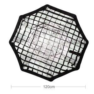"Image 3 - Godox Reflector portátil para Flash Speedlight, rejilla de nido de abeja, foto de paraguas, 120cm, 47"""