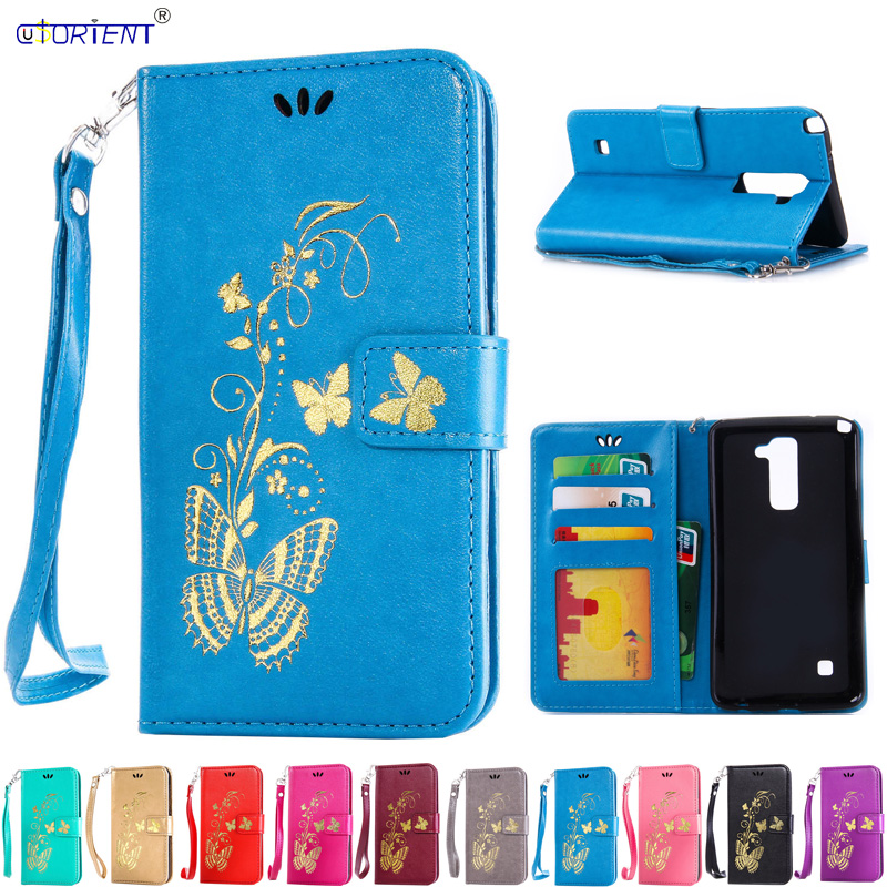 Cases, Covers & Skins For Lg Stylus 2 K520 New Leather Flip Book Wallet Phone Case Tempered Glass
