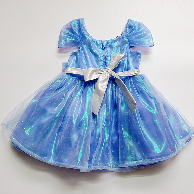 Girls Dress High-Grade Sequined Princess Cinderella Fancy kids clothes For Party Costume Snow Queen Cosplay