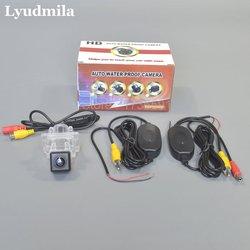 Kamera Nirkabel untuk Mercedes Benz E M ML SLK SLC Kelas W176 W221 W213 W216 W166 R172 Belakang Mobil kamera/Instalasi Yang Mudah