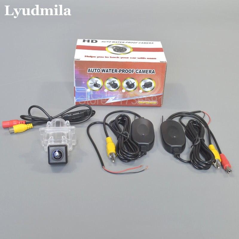 цена на Wireless Camera For Mercedes Benz A E M ML SLK SLC Class W176 W221 W213 W216 W166 R172 Car Rear view Camera / Easy Installation