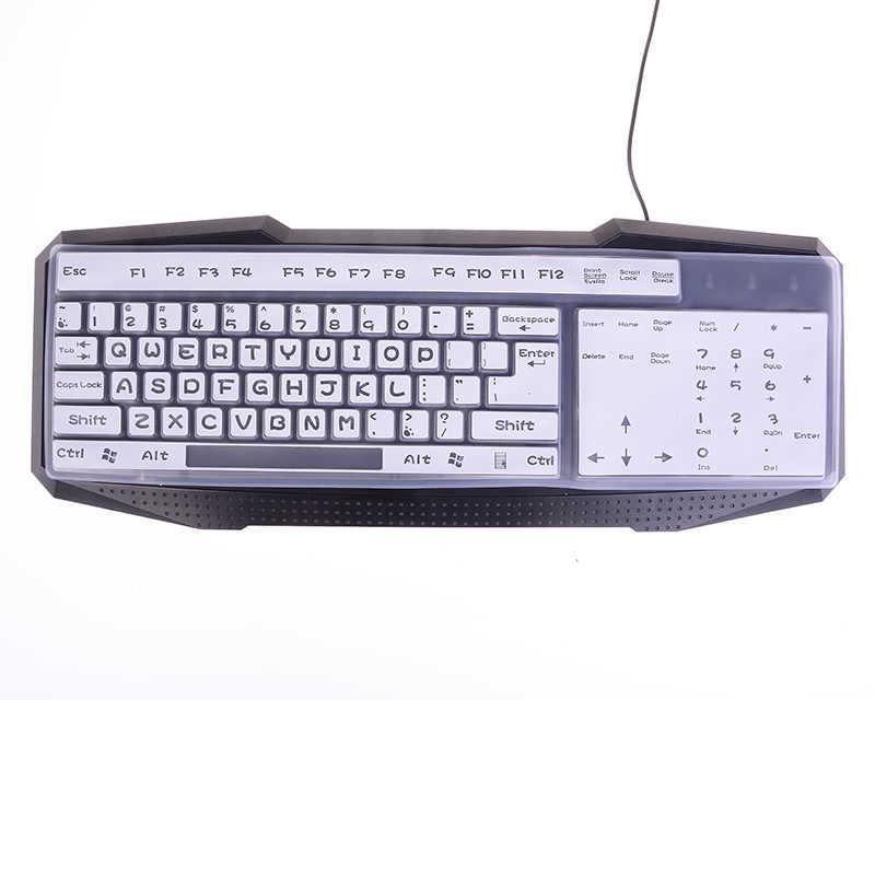 44.5*13 Cm Keyboard Silikon Penutup Transparan Jelas Pelindung Universal Desktop Komputer Keyboard Cover Protector untuk MacBook Air