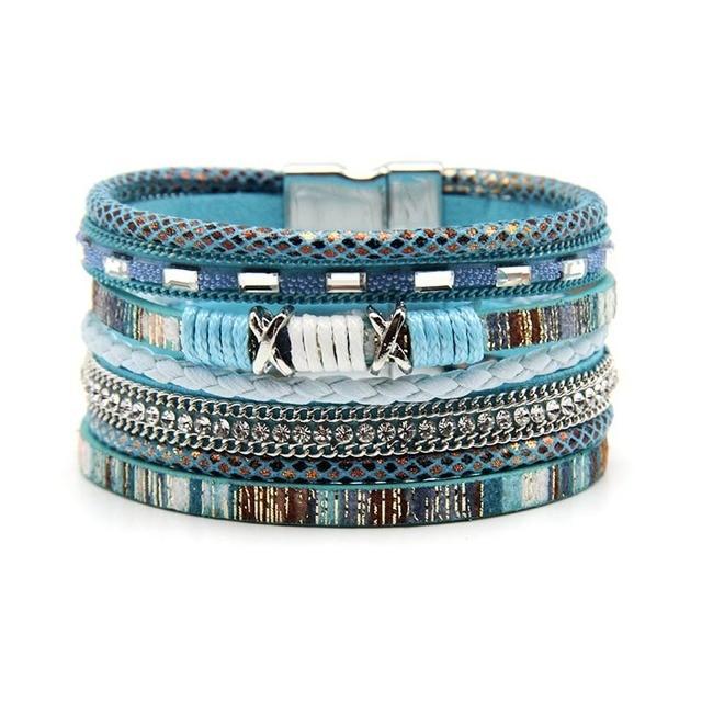 Boho Wrap Bracelet Multi-Layer Mawgie