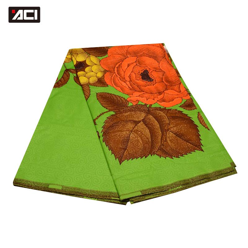 ACI Dutch Blume Design Dutch Wachs Afrikanischen Stoff Ankara Patchwork Stoff Tissu Wachs Hollandais Dutch Stoffe Afrikanische Java Drucken