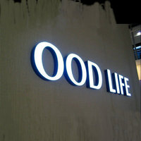 Outdoor 3D Acrylic Sign Led Logo Office Wall Letters