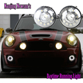 Brand New One Pair Led Daytime Running Light DRL Fog Lights For Bmw Mini Cooper R55 R56 R57 R58 R60 R61 12Leds Super Bright 12V