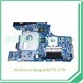 10290-2 48.4PA01.021 LZ57 MB Para lenovo ideapad B570 V570 Laptop motherboard HM65 DDR3 placa gráfica Nvidia 1 GB
