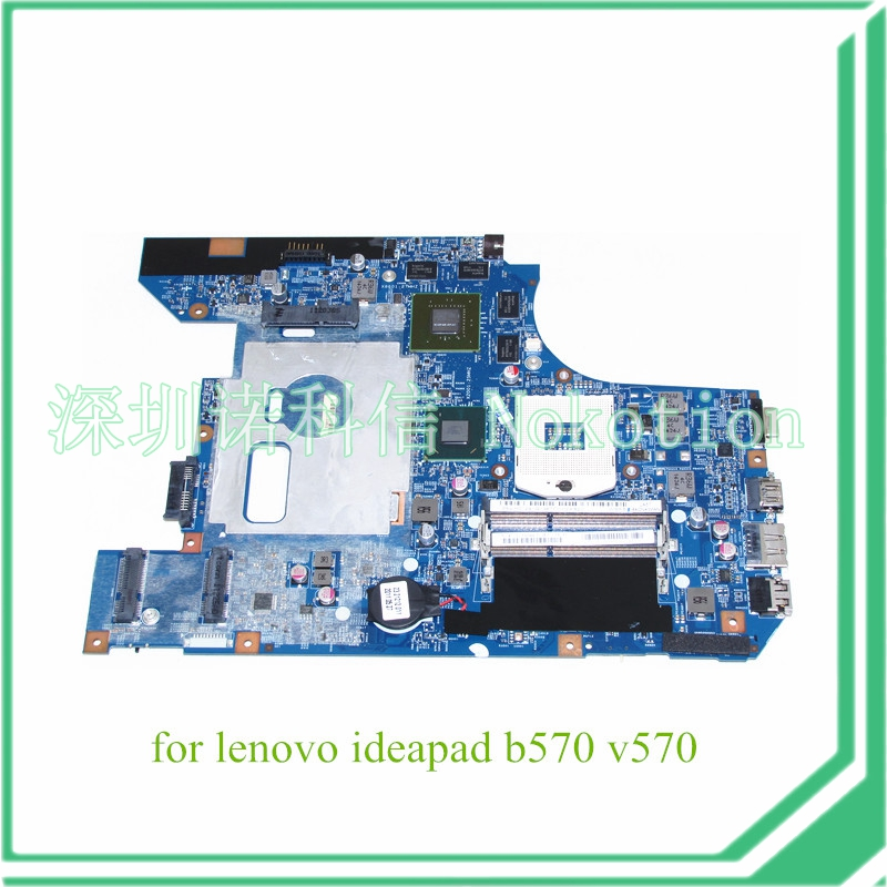 NOKOTION 10290-2 48.4PA01.021 LZ57 MB For lenovo ideapad B570 V570 Laptop motherboard HM65 DDR3 graphics 1GB nokotion brand new qcl00 la 8241p cn 06d5dg 06d5dg 6d5dg for dell inspiron 15r 5520 laptop motherboard hd7670m 1gb graphics