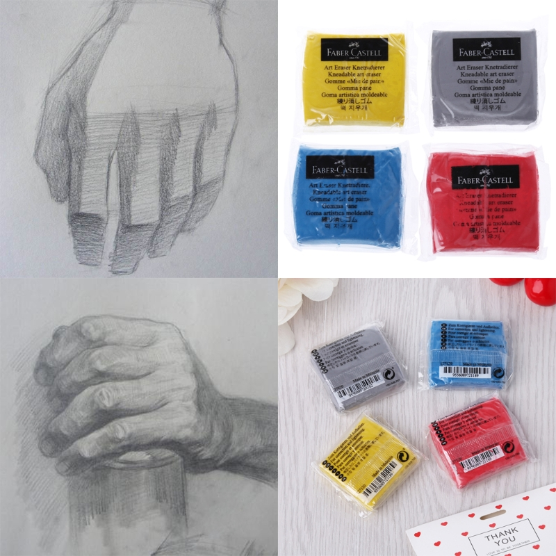 Kneaded Rubber Art Sketch Drawing Eraser Pencil Pastel Pencil Eraser Plastic