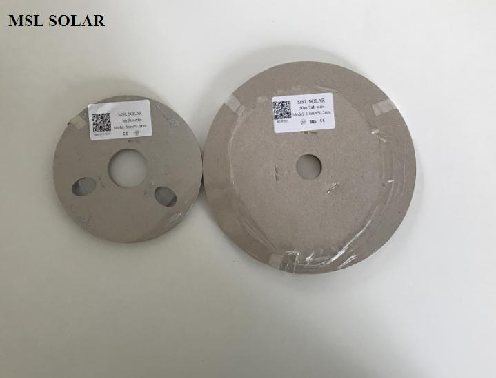 MSL SOLAR Solder strip for Diy solar panel.top quality solar cell welding ribbion. Tin coated copper wire 50m + 15mbus wire