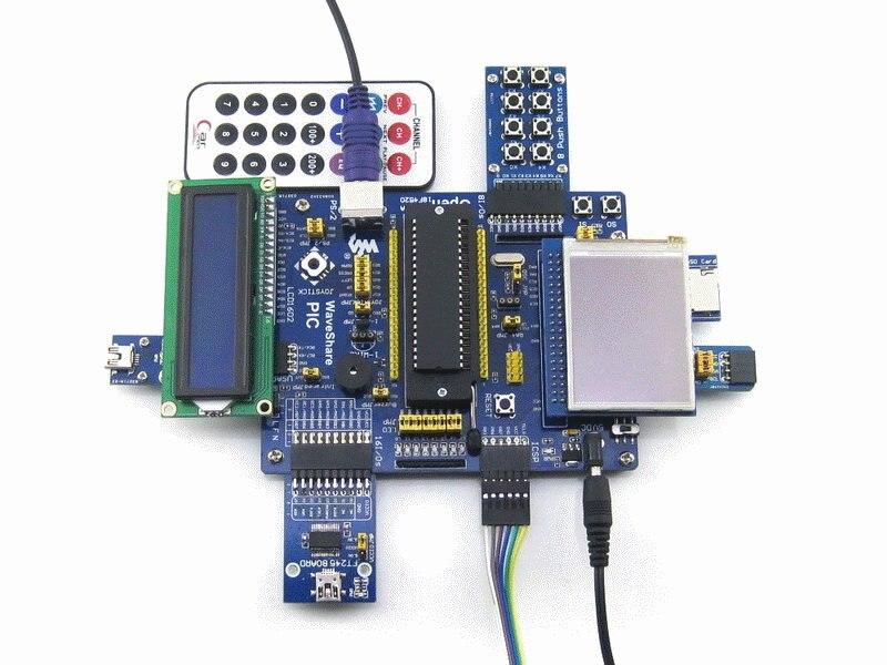 11 Module Open16F877A Package A PIC16F877A-I//P PIC16F877A PIC Development Board