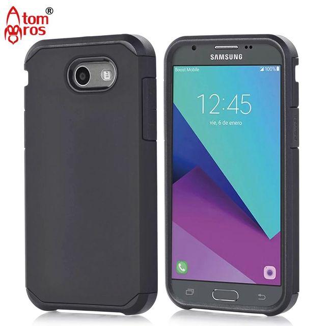 sale retailer 71634 a380e US $4.04 |Hybrid TPU Plastic Matte Hard Case For Samsung Galaxy J7 2017 /  J7 Sky Pro / J7 Perx / J7 V Phone Cases Shell Skin Fundas Capa-in Fitted ...