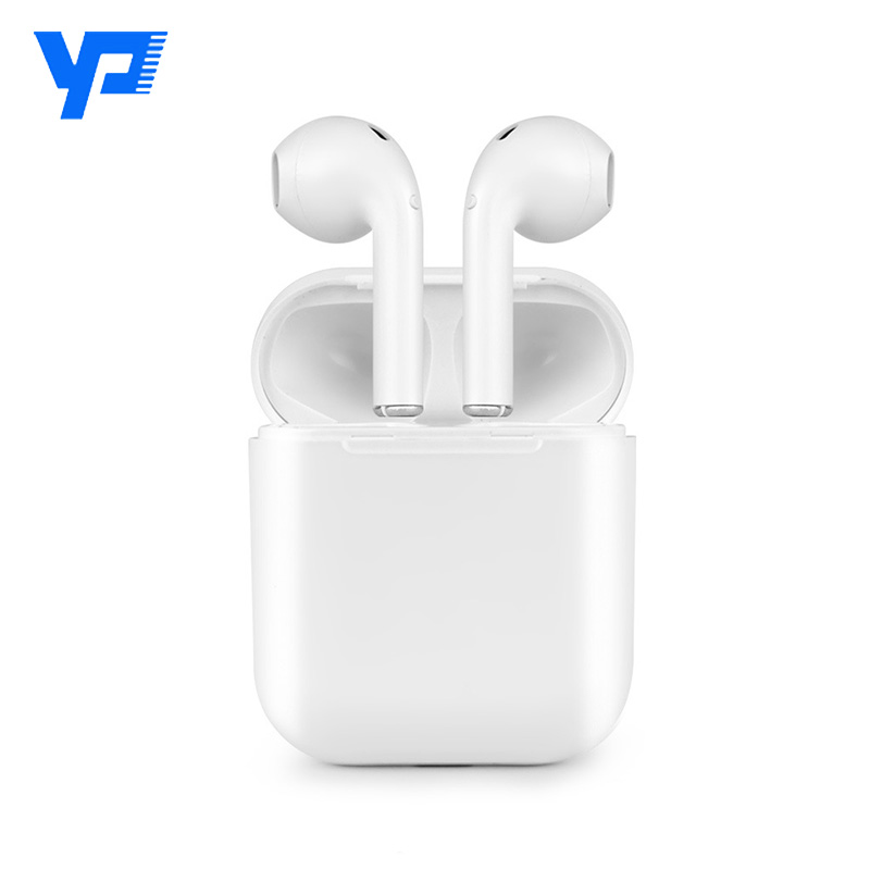 TWS I9 Mini Bluetooth Wireless Earbuds Double Ear Wireless Earphone In Ear Earbuds for Iphone 6/7/8/PLUS for Andriod Charger Box
