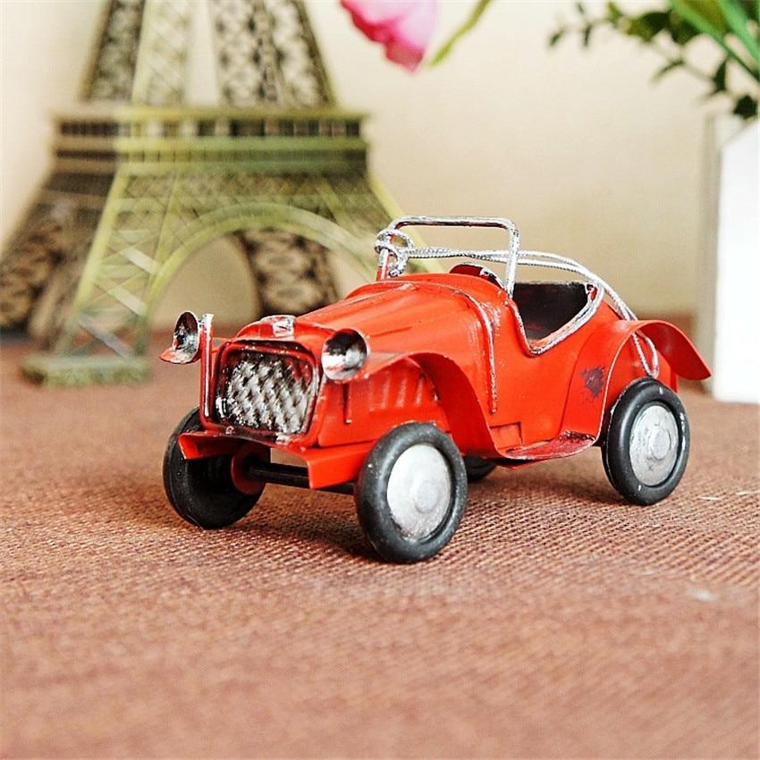 Hot sale (9pcs/lot) Multicolor Finishing retro car model Handmade - Home Decor - Photo 3