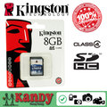 Kingston memory card sd card SDHC 8gb 16gb 32gb class 4 cartao de memoria tarjeta carte memoire appareil photo wholesale lot