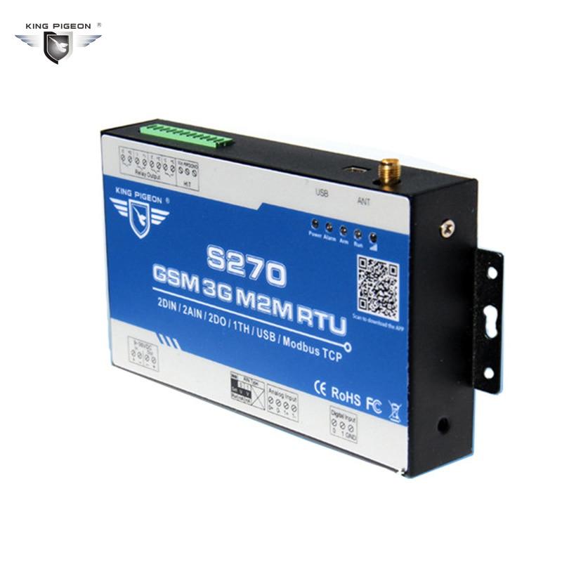 imágenes para Monitoreo Remoto de Temperatura GSM M2M RTU Humidty Sistema de Alarma SMS GPRS de Comunicación BTS Access Control Relay Rey Pigeon S270