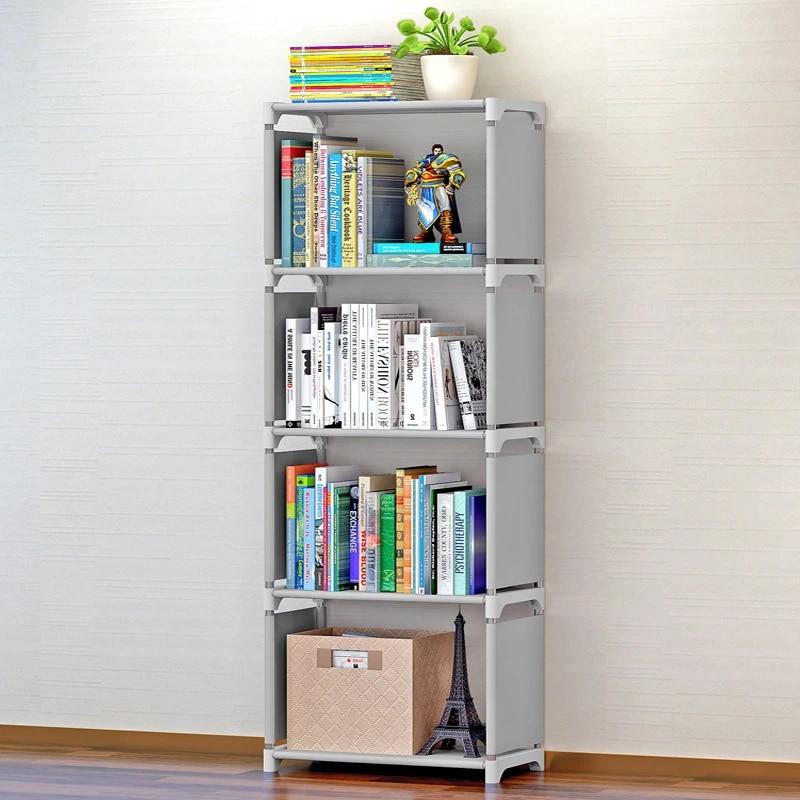 etagere pour livres creative simple etagere de rangement pour livres plantes divers bricolage combinaison bibliotheque pour enfants
