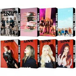 30 шт./компл. Корейский KPOP BLACKPINK девушки Kill This Love 2019 новый альбом Фотокарта ПВХ карты Self Made LOMO Card Photocard