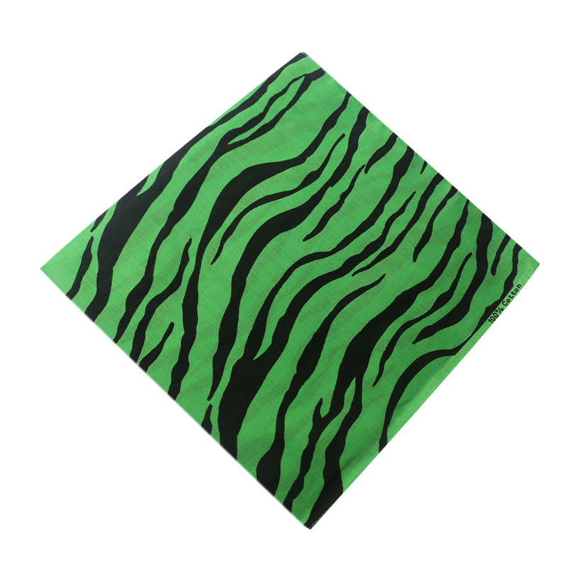 HUOBAO Hip hop Leopard print Bandanas Outdoor Riding Square Scarf For Male Female Head Scarves Wristband Pocket Towel