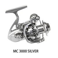 DEUKIO Рыболовная катушка MC3000 MC4000 MC5000 MC6000 Литье металла 12BB Алюминий Нержавеющаясталь спиннингом рыболовные снасти Pesca