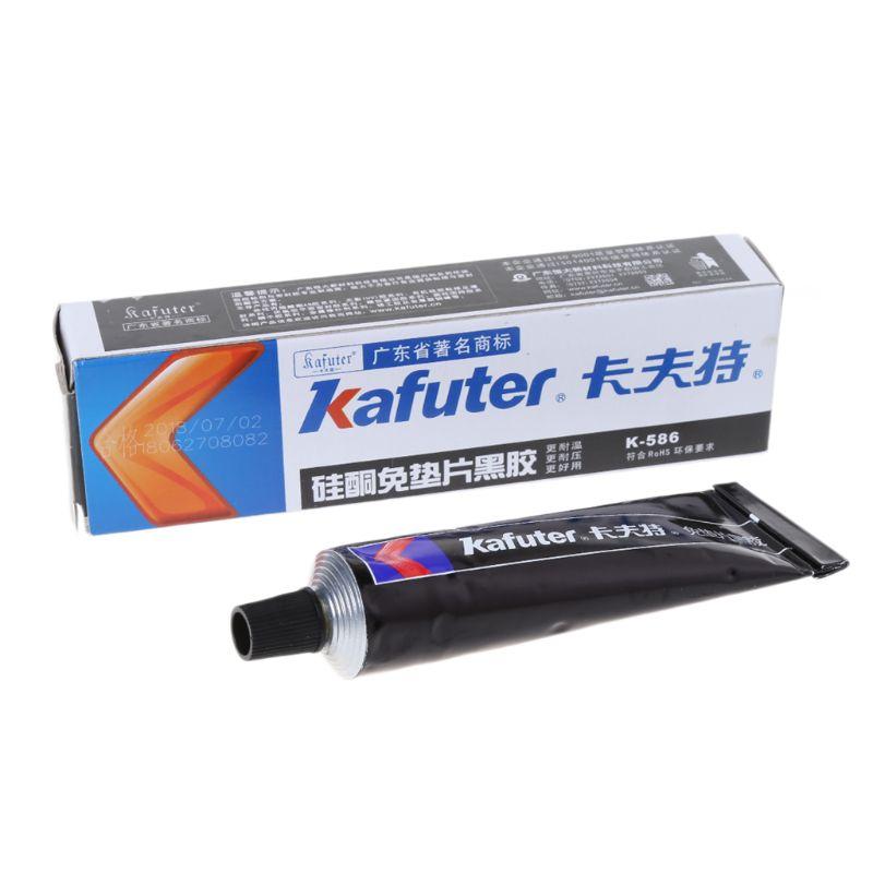 K-586 Black Silicone Free-gasket Waterproof Car Motorcycle Repairing Glue Silicone Rubber