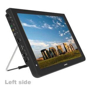 Image 2 - JUNKE taşınabilir dijital ve Analog Led televizyonlar destek TF kart USB ses Video oynatıcı araba TV 12 inç DVB T ve DVB T2