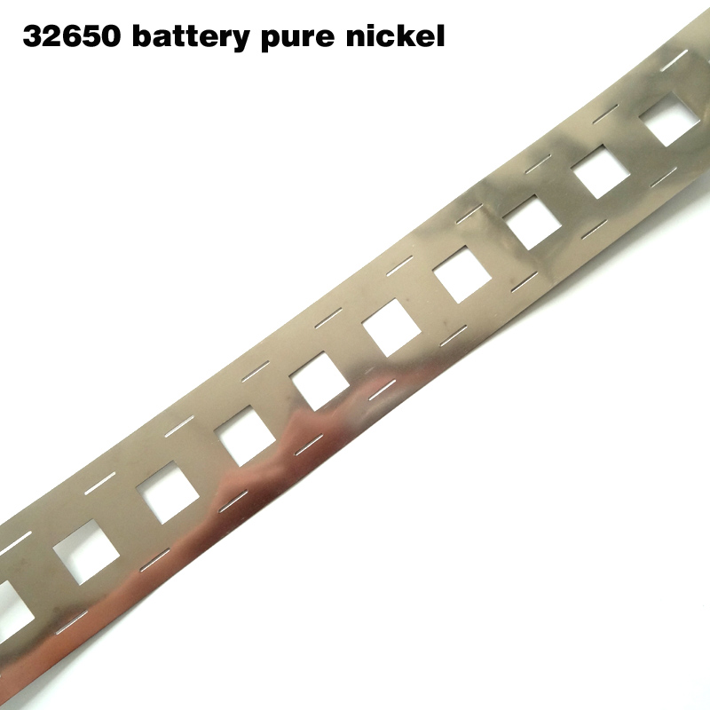 1 Meret Pure Nickel For 32650 Battery Pack 32650 Lithium Ion Battery Pure Nickel Belt 32650 Nickel Tape