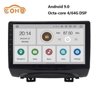 Car radio Android 9.0 8 core 4/64G for JAC Refine S3 with BT GPS DSP support Steering Wheel Control WIFI and Carplay
