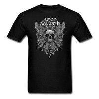 Amon Amarth Death Metal Band Rock Black T Shirt Summer Fashion Short Sleeve Print Shirts Cool