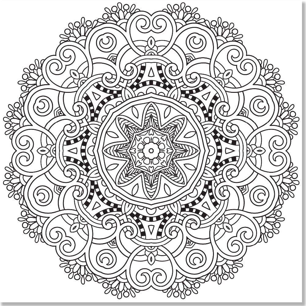 Mandala Designs Coloring Book 31 Stress Relieving Studio English Pencil Adult Books In From Office School