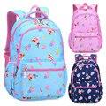 Детская сумка для начальной школы  камуфляжная сумка в горошек с клубничкой  школьные рюкзаки для подростков  2019
