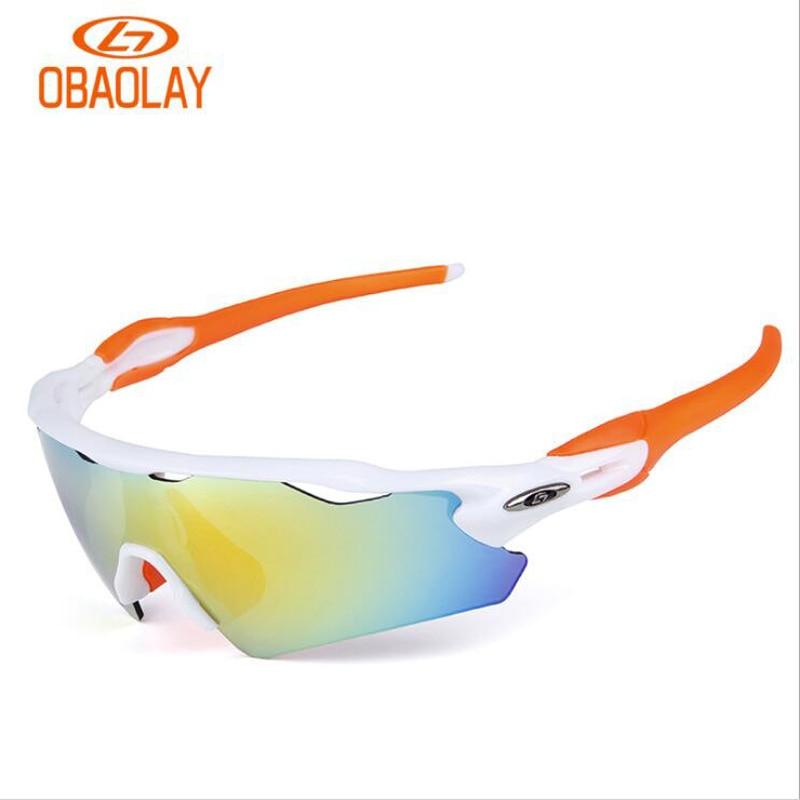 62f122ae6c32f Ciclismo Óculos Óculos de Ciclismo Esportes ao ar Obaolay Óculos ...