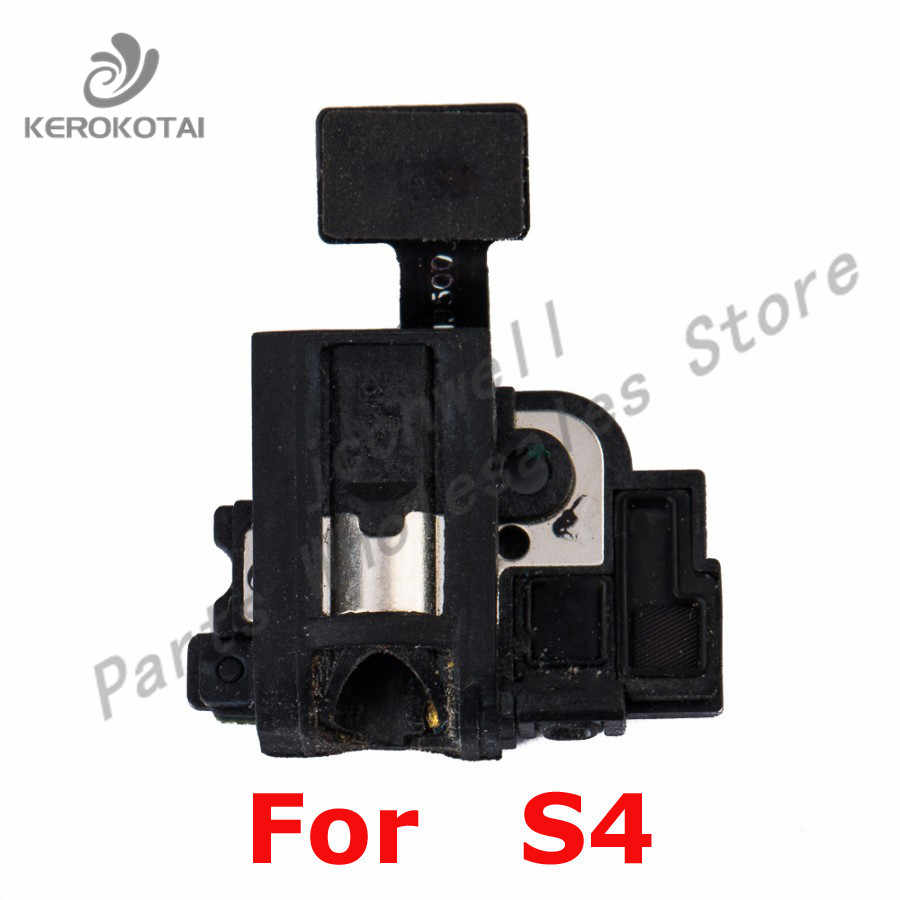 For Sam Galaxy S4 i337 i9505 i9500 i545 m919 E300S Earphone Headphone Audio Jack Flex Cable S4 Replacement Part
