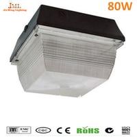 Промышленное освещение открытый потолочный светильник пятна 80 Вт 110 В 240 В Motion Инфракрасный Индукционная открытый потолочные светильники Б