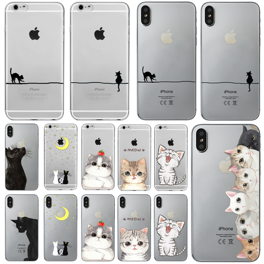 Cute Cats Dogs Animal Cases For...