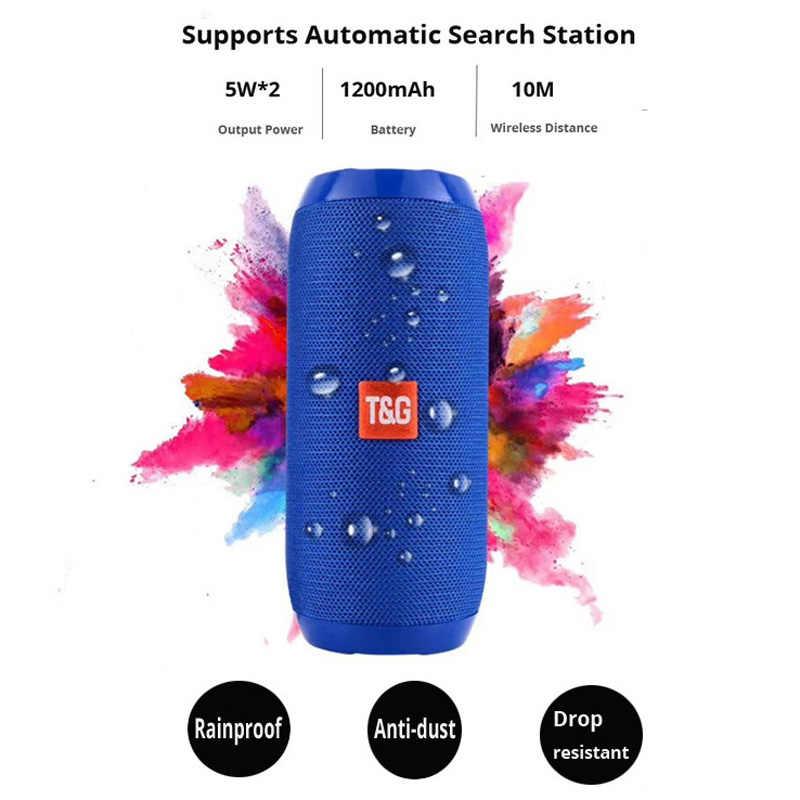 Przenośny głośnik 10W bezprzewodowy głośnik bluetooth kolumna Bass Sound Bar Subwoofer odtwarzacz muzyczny nagłośnienie głośnik Radio FM