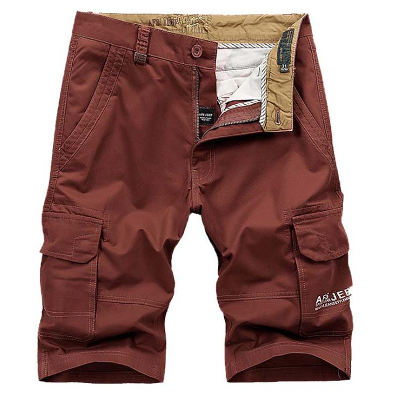 Plus Size 42 44 Casual Shorts Mens Thin Loose LEISURE SHORTS Cotton Baggy Short Trousers Male Knee Lenght Trousers Bottom