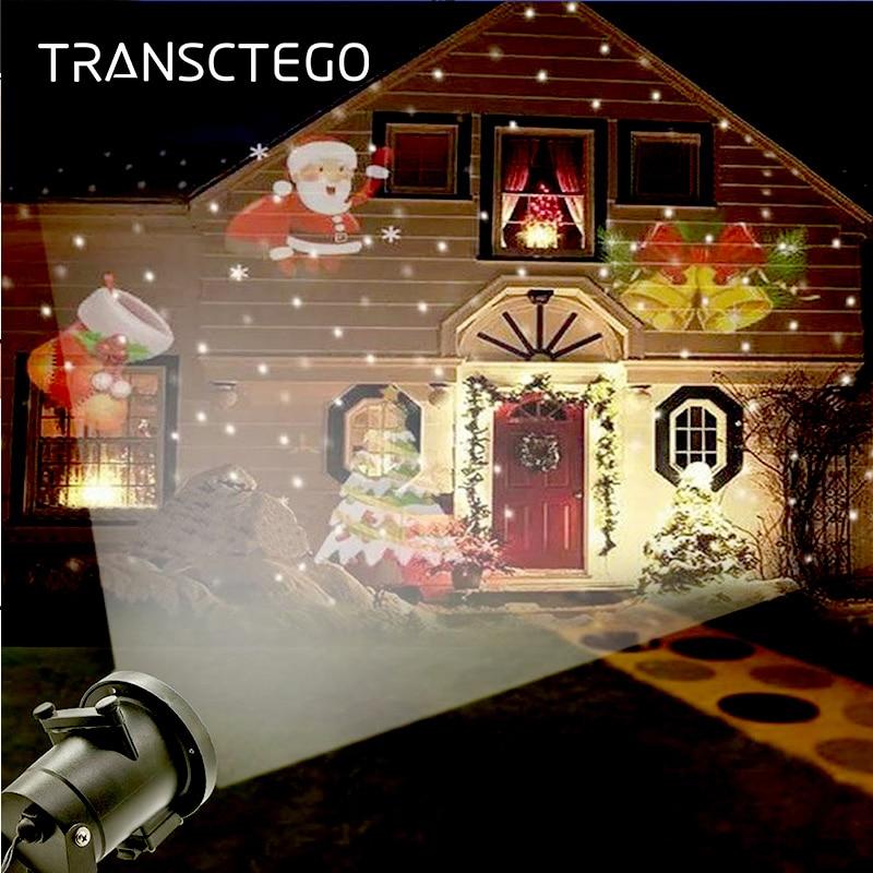Laser Light Snowflake Projector Lamp