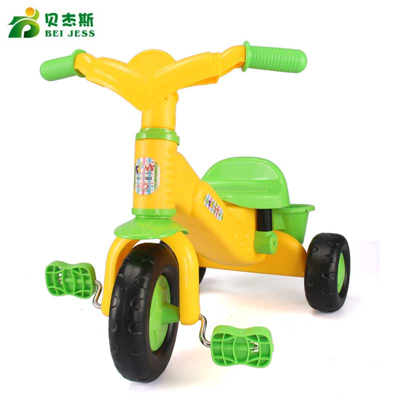 BEI JESS New 2016 outdoor convenient three - wheeled motorcycle toys children over the age of 3 growth Christmas gifts growth of telecommunication services