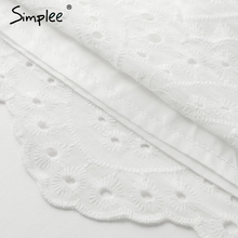 Simplee Fashion off shoulder ruffle camis Casual strap wrap bust white tank top women Sexy streetwear cotton crop top femme