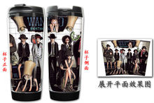 One Piece LULLY Ace ZORO Chopper Nami Sanji Nico Robin Double Insulation Mug Coffee Mugs Space mug