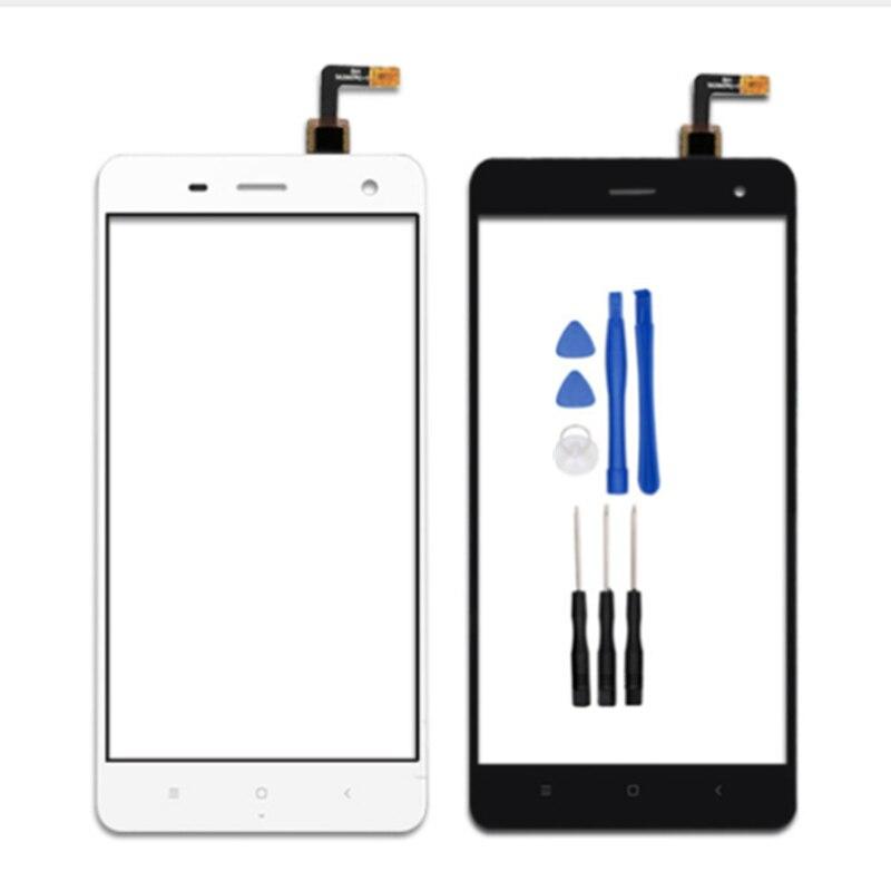 Écran tactile Pour xiaomi 4 mi4 mi 4 vannego Capteur Verre Avant Tactile de Remplacement Du Panneau Mobile Accessoire livraison gratuite + outils